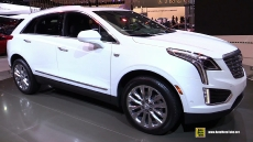 2017 Cadillac XT5 at 2016 Detroit Auto Show