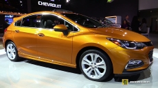 2017 Chevrolet Cruze Hatchback at 2016 Detroit Auto Show