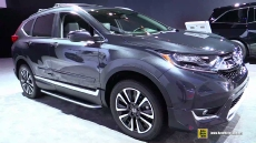 2017 Honda CRV Touring AWD at 2017 Detroit Auto Show