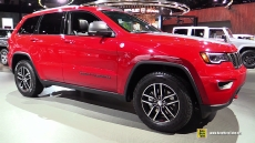 2017 Jeep Grand Cherokee Trailhawk at 2017 Detroit Auto Show
