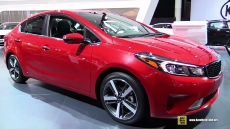 2017 KIA Forte at 2016 Detroit Auto Show