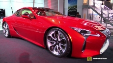 2017 Lexus LC500 at 2016 Detroit Auto Show