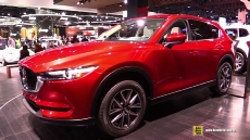 2017 Mazda CX5 at 2017 Detroit Auto Show