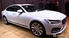 2017 Volvo S90 at 2016 Detroit Auto Show