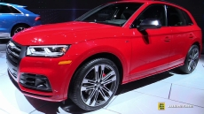 2018 Audi SQ5 at 2017 Detroit Auto Show