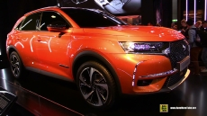 2018 DS7 Crossback at 2017 Geneva Motor Show