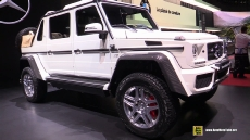 2018 Mercedes Maybach G650 Landaulet at 2017 Geneva Motor Show