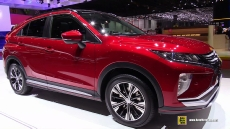2018 Mitsubishi Eclipse Cross at 2017 Geneva Motor Show