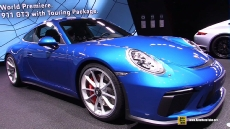 2018 Porsche 911 GT3 Touring Package at 2017 Frankfurt Motor Show