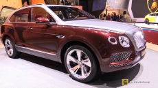 2019 Bentley Bentayga Hybrid at 2018 Geneva Motor Show