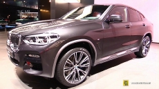 2019 BMW X4 30i xDrive at 2018 Geneva Motor Show