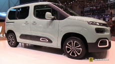 2019 Citroen Berlingo at 2018 Geneva Motor Show