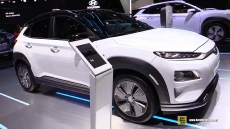 2019 Hyundai Kona Electric at 2018 Geneva Motor Show