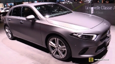 2019 Mercedes A200 at 2018 Geneva Motor Show