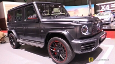 2019 Mercedes AMG G63 at 2018 Geneva Motor Show