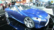 Lexus LF-LC Concept at 2012 Los Angeles Auto Show