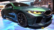BMW M8 Gran Coupe Concept at 2018 Geneva Motor Show