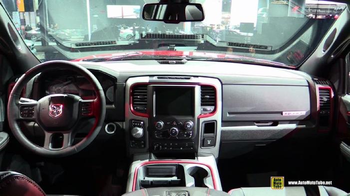 Ram 1500 Rebel >> 2016 Ram 1500 Rebel at 2015 Detroit Auto Show
