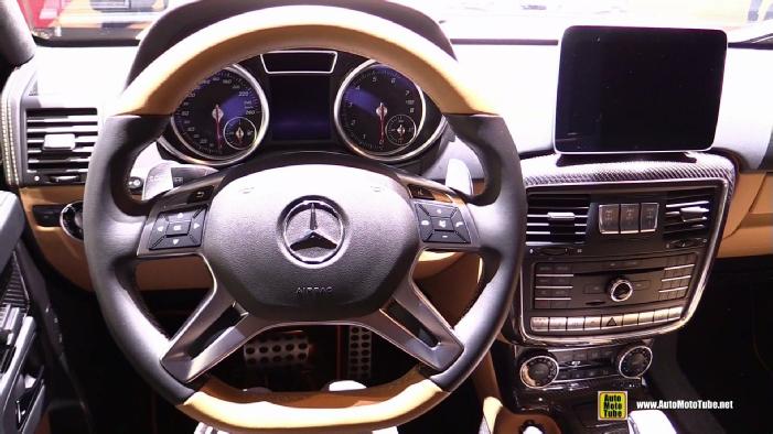 2018 Mercedes Maybach G650 Landaulet At 2017 Geneva Motor Show
